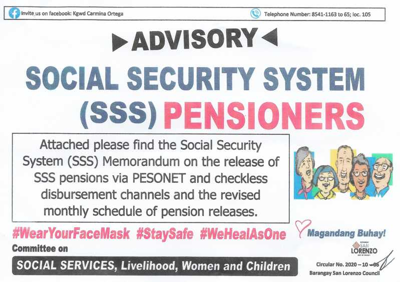 SSS Pensioners